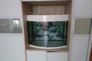аквариум панорамный 200 литров