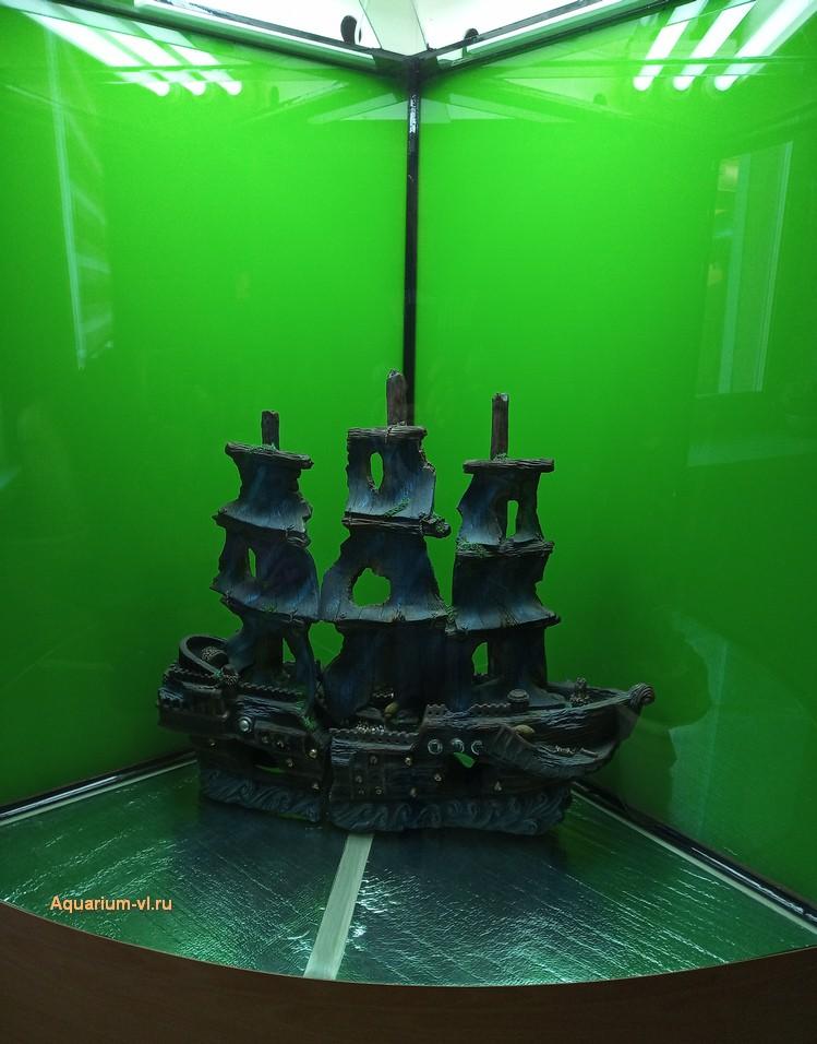 размеры для угловых аквариумов